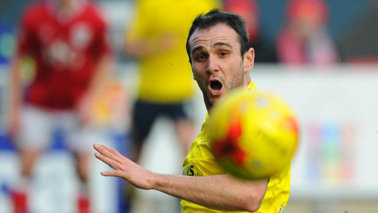 Kike of Middlesbrough goes close