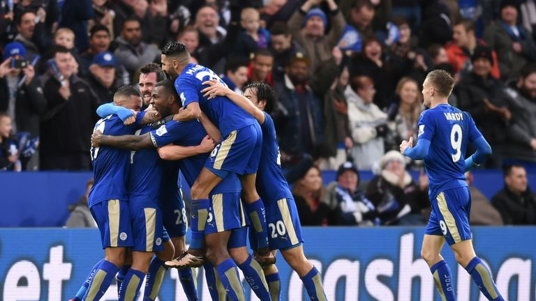 Claudio Ranieri insists Leicester are still underdogs for the title, despite their lofty position