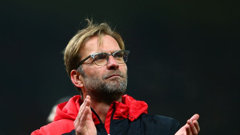 Jurgen Klopp is currently without 11 first-team regulars