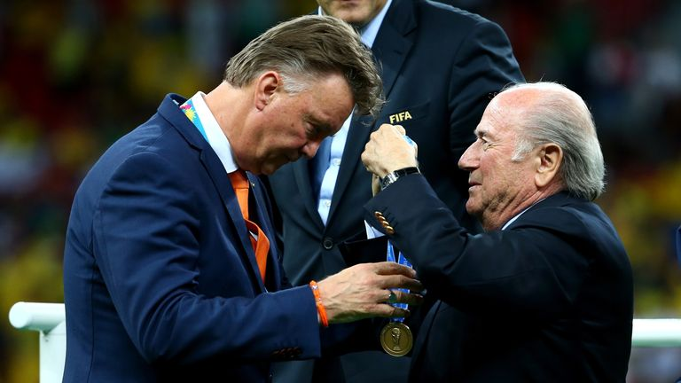 Van Gaal was written off by many people after being appointed as manager of Holland by led them to a third-placed finish at the 2014 World Cup