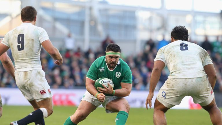 The last of Moore's 10 Ireland caps came against Scotland in the final round of the 2015 Six Nations