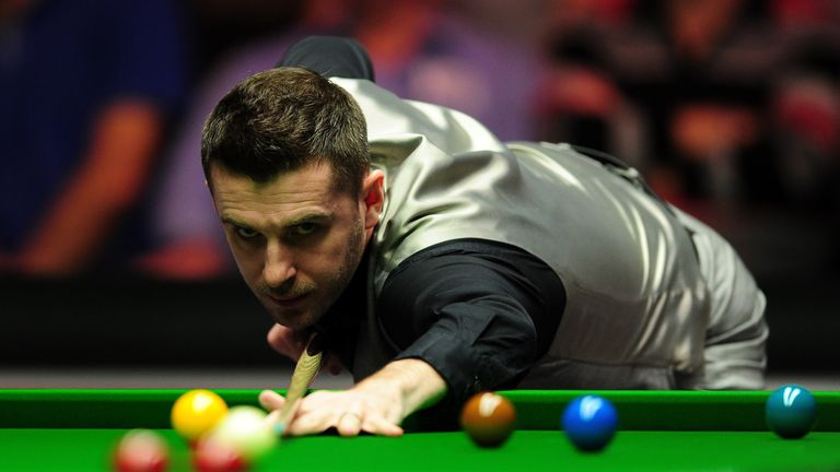 Mark Selby was taken to 24 frames by Sam Baird