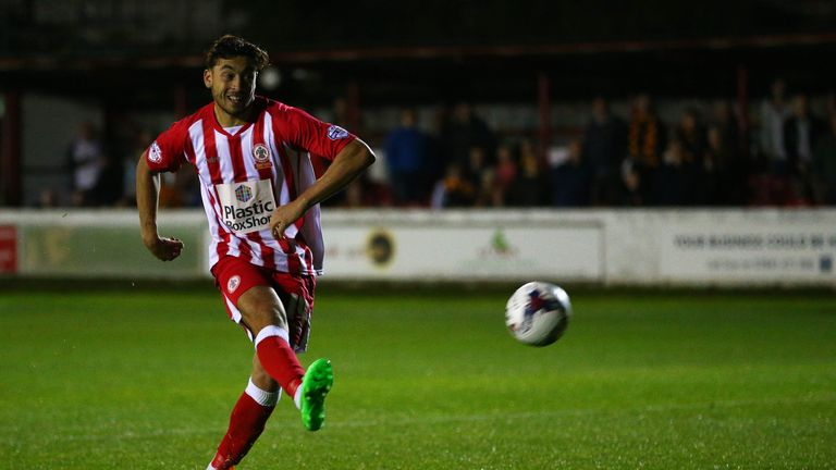 Matt Crooks could be set to leave Accrington Stanley for Rangers
