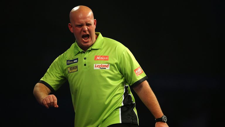 Michael van Gerwen defeated Dave Chisnall to win the Unibet Masters