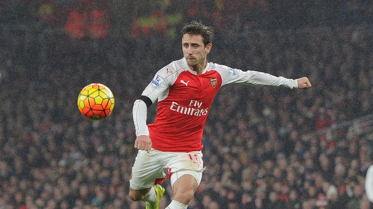 Nacho Monreal joined the Gunners in 2013 from Malaga
