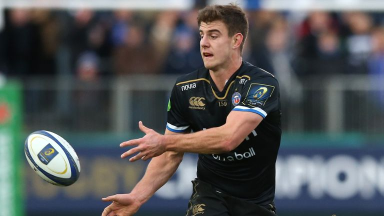 Ollie Devoto suffered concussion playing for Bath on Saturday