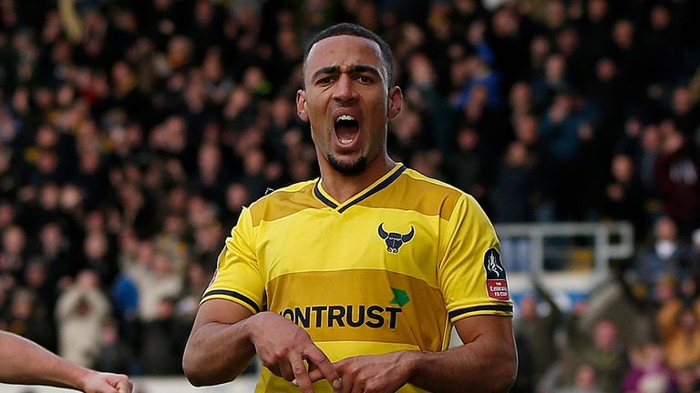 Kemar Roofe has become Leeds' latest new recruit