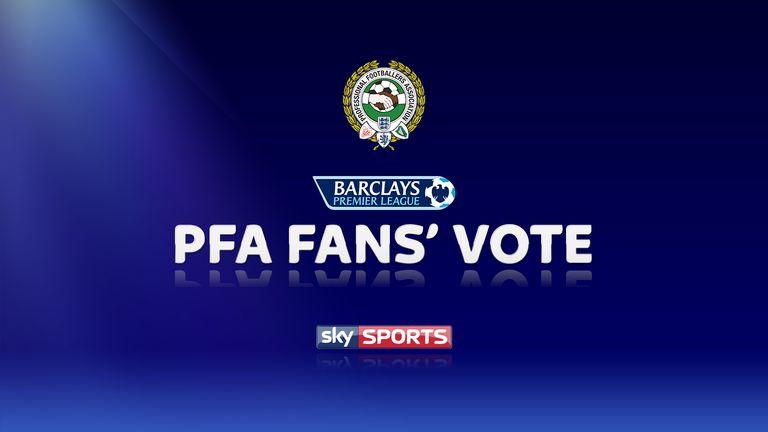 PFA Fan's Player of the Month - Premier League