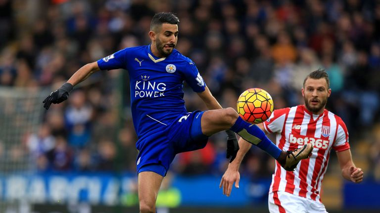 Riyad Mahrez has been one of the Foxes' standout players