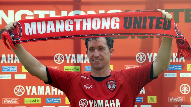 Former Liverpool striker Robbie Fowler played alongside Rehman in Thailand