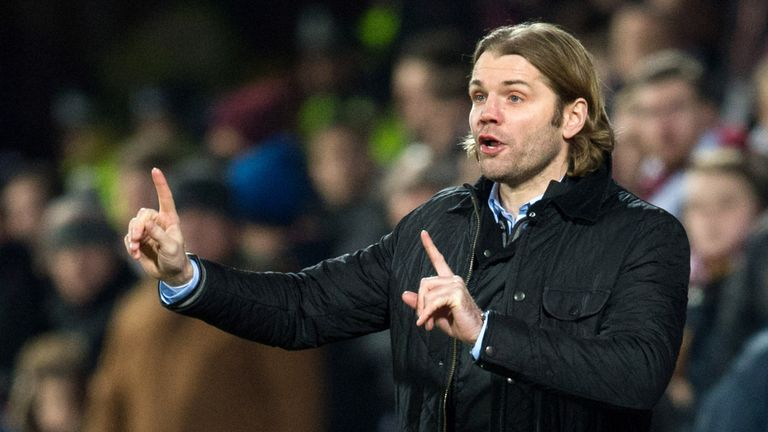 Hearts manager Robbie Neilson felt Aberdeen's aggressive style caused trouble on the pitch