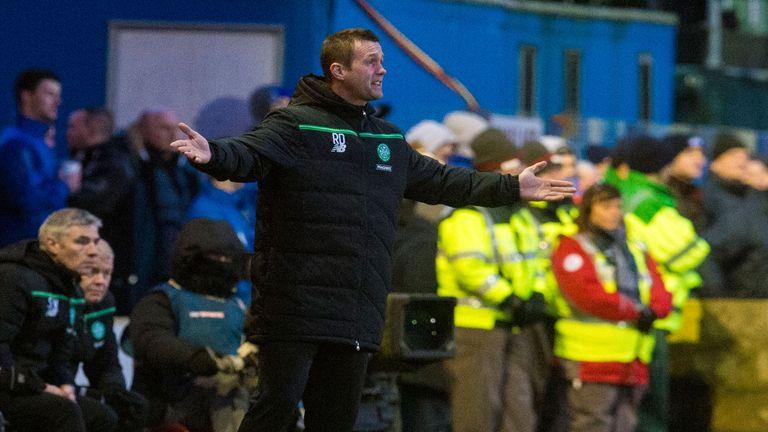 Celtic boss Ronny Deila against during cup win over Stranraer