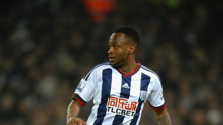 Saido Berahino came off the bench in the 2-1 win over Stoke