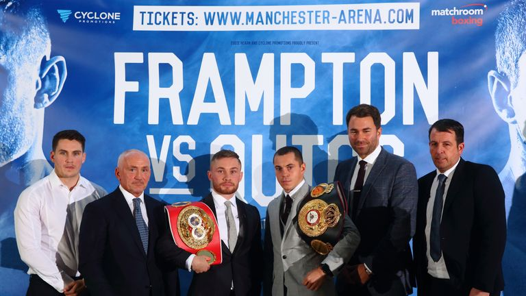 Quigg will hold two world titles if he defeats Frampton in Manchester