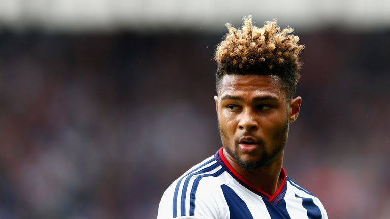 Serge Gnabry has made just one substitute appearance in the Premier League for West Brom this season