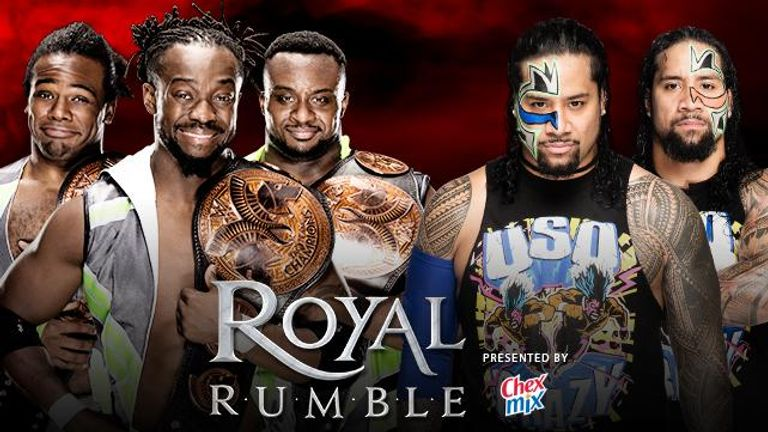 The New Day fended off The Usos in a WWE Tag Team Title bout