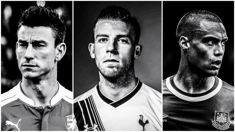 Laurent Koscielny, Toby Alderweireld and Winston Reid are among the defenders to have most impressed this season