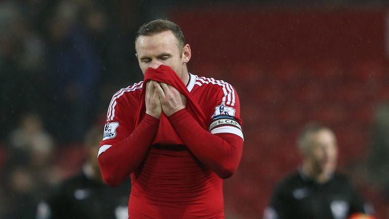 Rooney has struggled in front of goal
