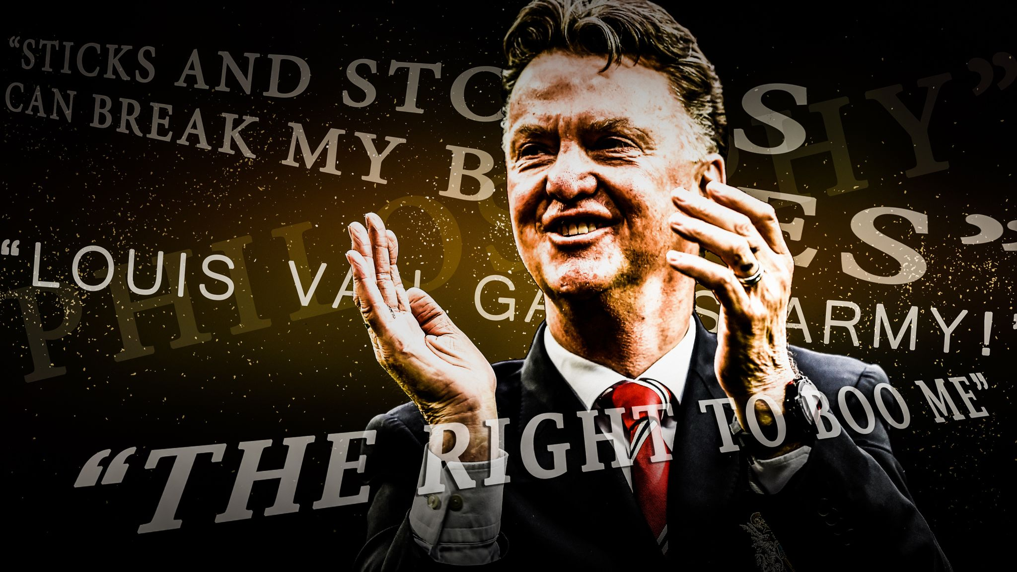 Louis Van Gaal S Best Quotes From His Manchester United Tenure Football News Sky Sports