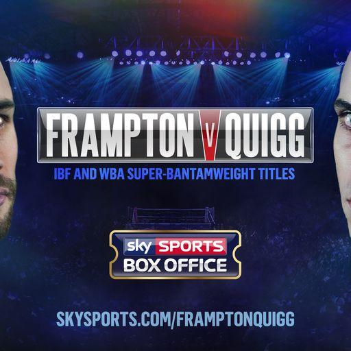 Book Frampton-Quigg now