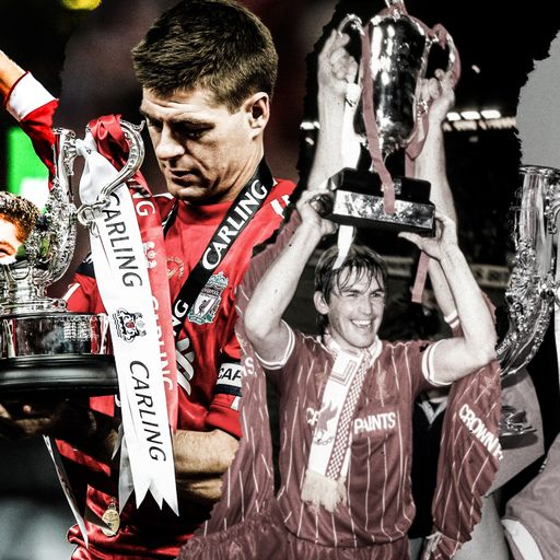 Liverpool's League Cup wins