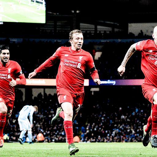 Man City 1 Liverpool 4