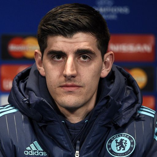 Courtois: Right to sack Jose