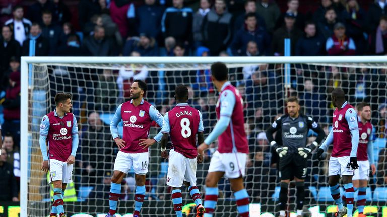 Aston Villa were thrashed 6-0 by Liverpool