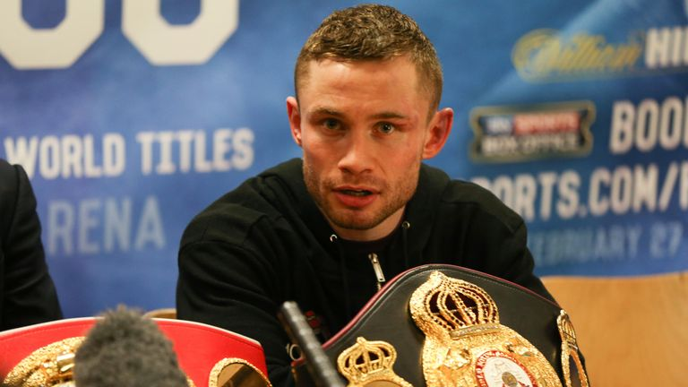 Frampton felt he was a convincing winner of the fight