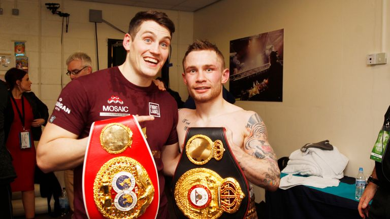 Carl Frampton and Shane McGuigan's successful partnership is over