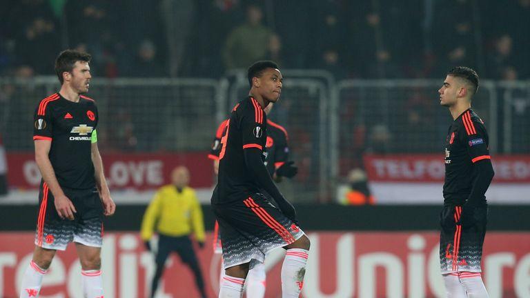 Manchester United left Denmark empty-handed