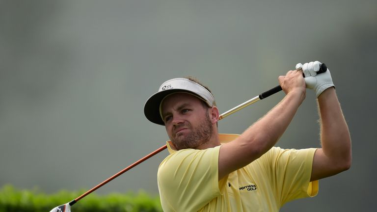 Casey O'Toole carded a hole-in-one and is looking forward to some comfortable hotel stays