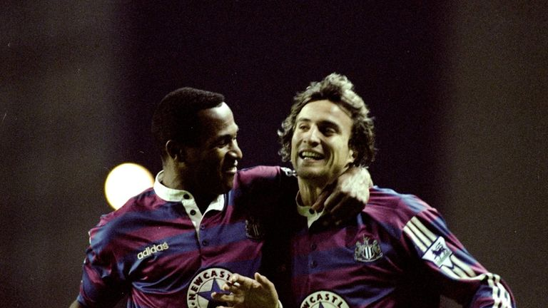 Newcastle came close to winning the Premier League title during the 1995/96 season