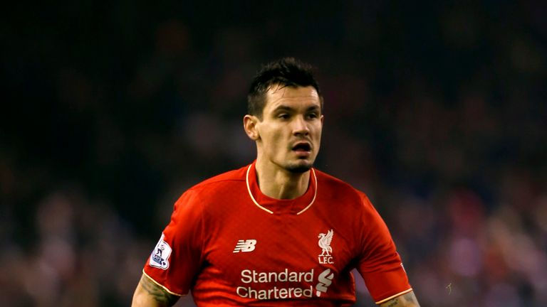 Liverpool's Dejan Lovren during the Barclays Premier League match at Anfield, Liverpool. PRESS ASSOCIATION Photo. Picture date: Sunday December 13, 2015. S