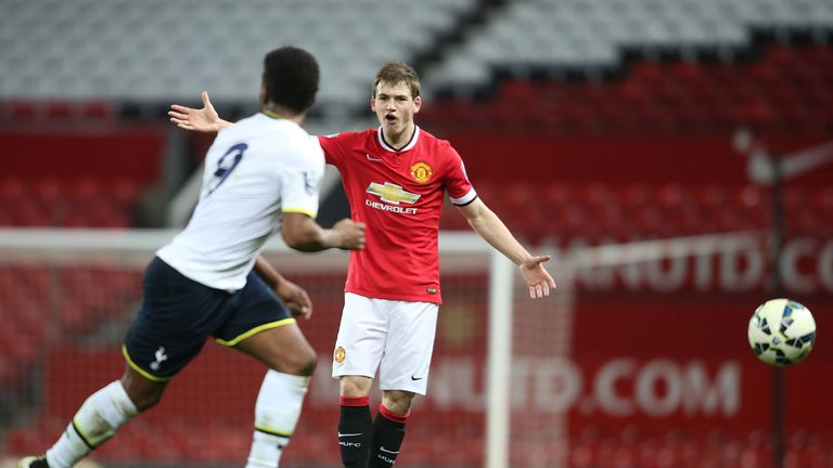 Donald Love has been in fine form for Manchester United's U21s