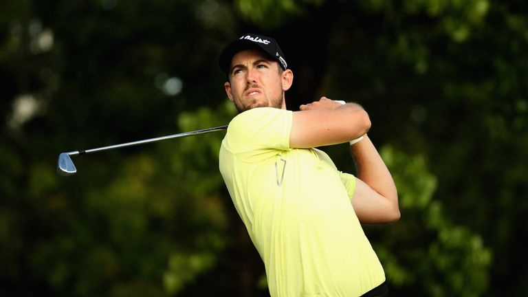 Nathan Holman leads outright after a faultless 64