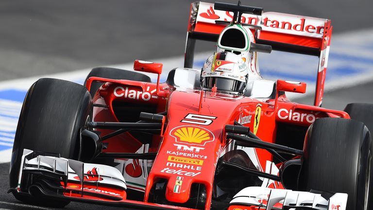 Vettel impressed for Ferrari
