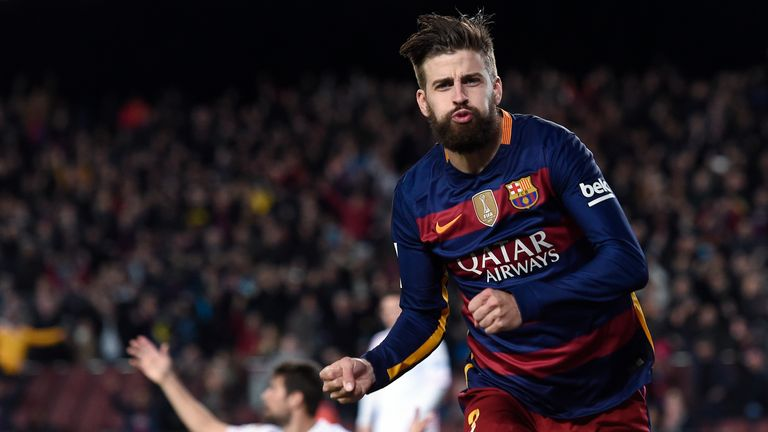 Arsenal were interested in Gerard Pique at the time they signed Cesc Fabregas