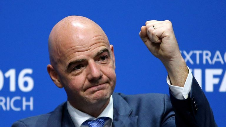 Gianni Infantino Backed By Uefa Became The New Fifa President On Friday
