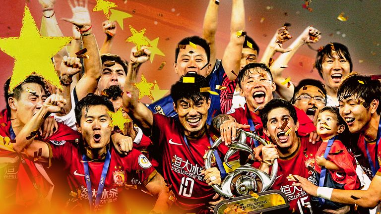 Sky Sports will be showing the Chinese Super League through to 2018