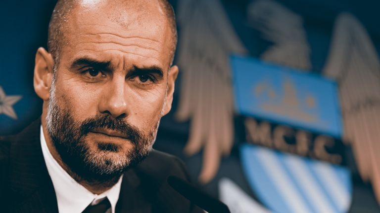 Pep Guardiola will manage Manchester City next season