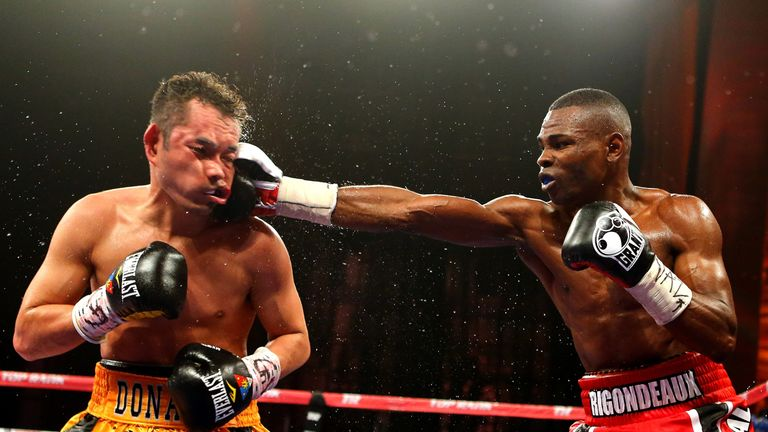 Guillermo Rigondeaux (right) left Russia for the USA without securing a UK visa