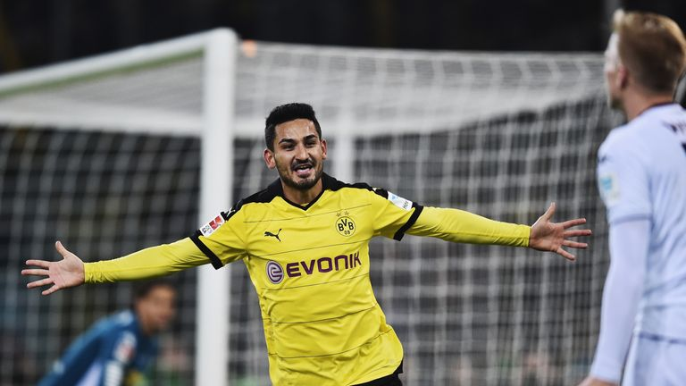 Ilkay Guendogan is courting interest from Man City, Juventus and Barcelona