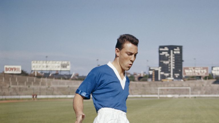 Greaves began his career at Chelsea
