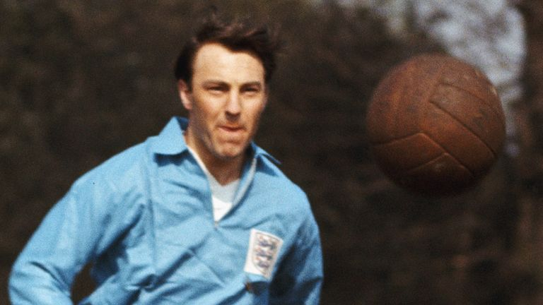 Jimmy Greaves scored 44 England goals in 57 appearances