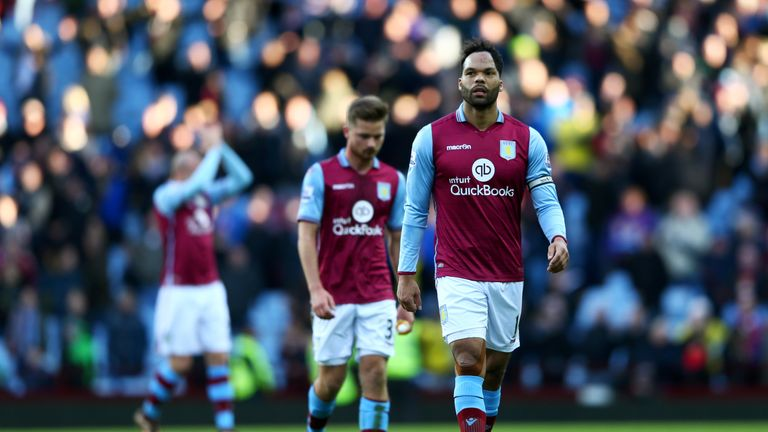 The former England international was part of the Villa squad that was relegated last season