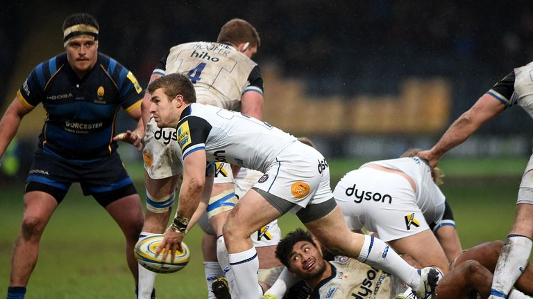 Jonathan Evans will leave Bath for Scarlets at the end of the campaign