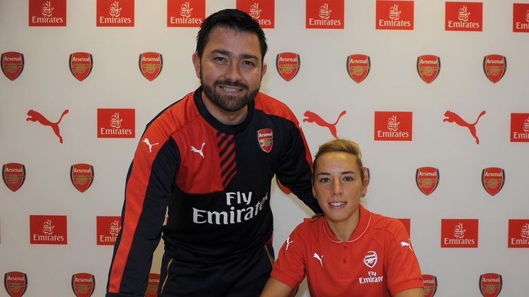 Pedro Martinez Losa has left his role as manager of Arsenal Women