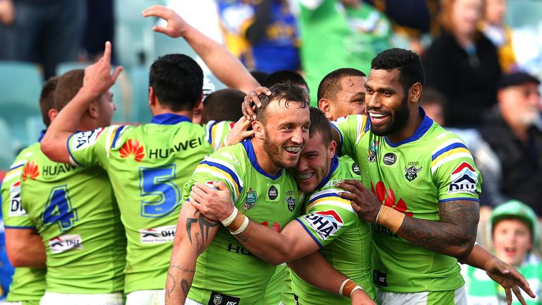Josh Hodgson has played a starring role in Canberra's superb start to the season