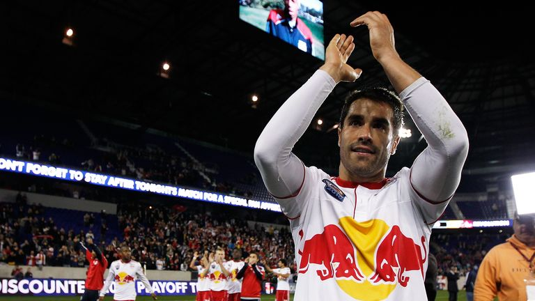Angel also made a name for himself in the MLS with New York Red Bulls